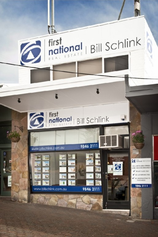 Bill Schlink First National New Logo