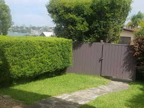 Front Yard and Gates