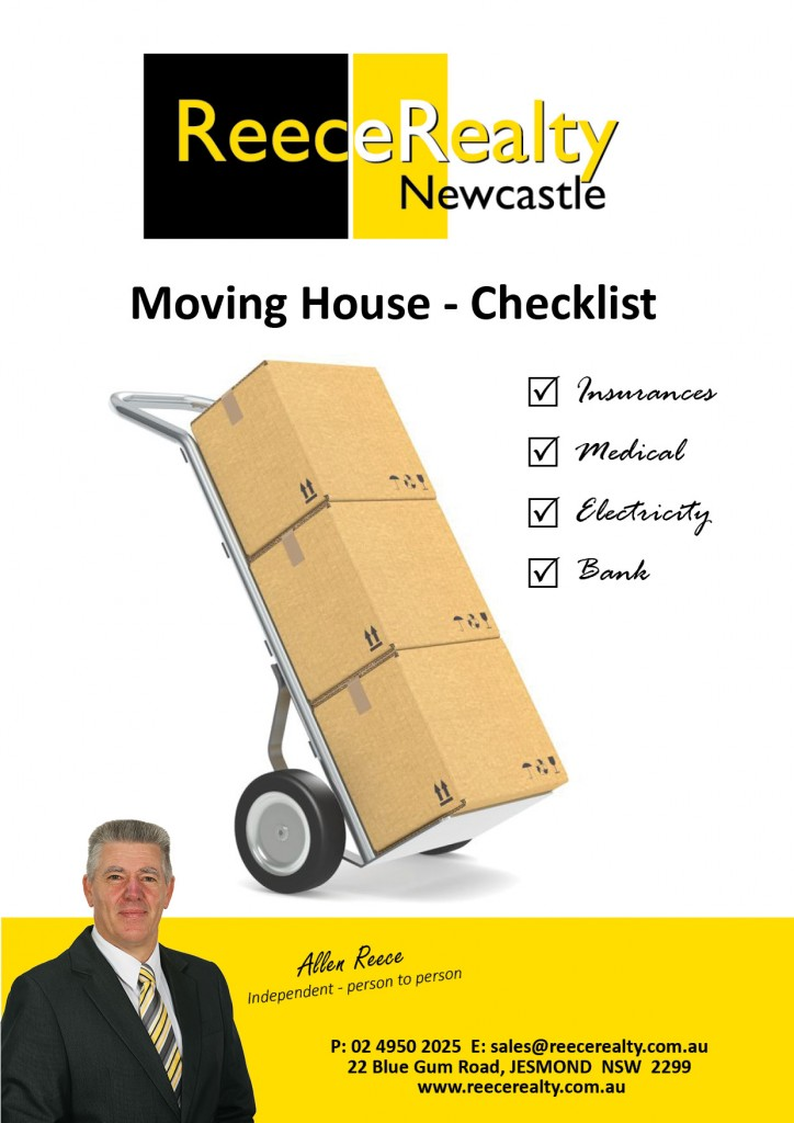 Moving Checklist Cover