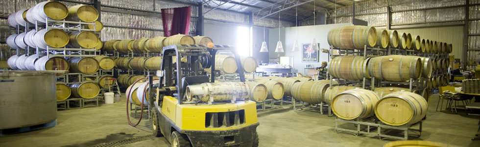 Winery warehouse