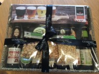 Got to love a thank you hamper of gourmet beers!
