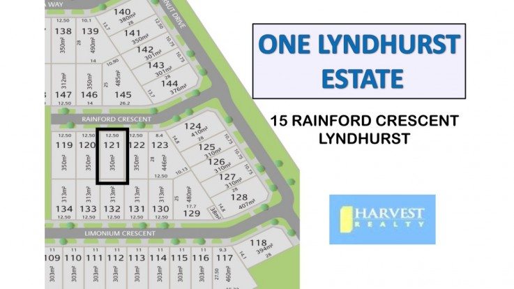 Lot 121/15 Rainford Crescent