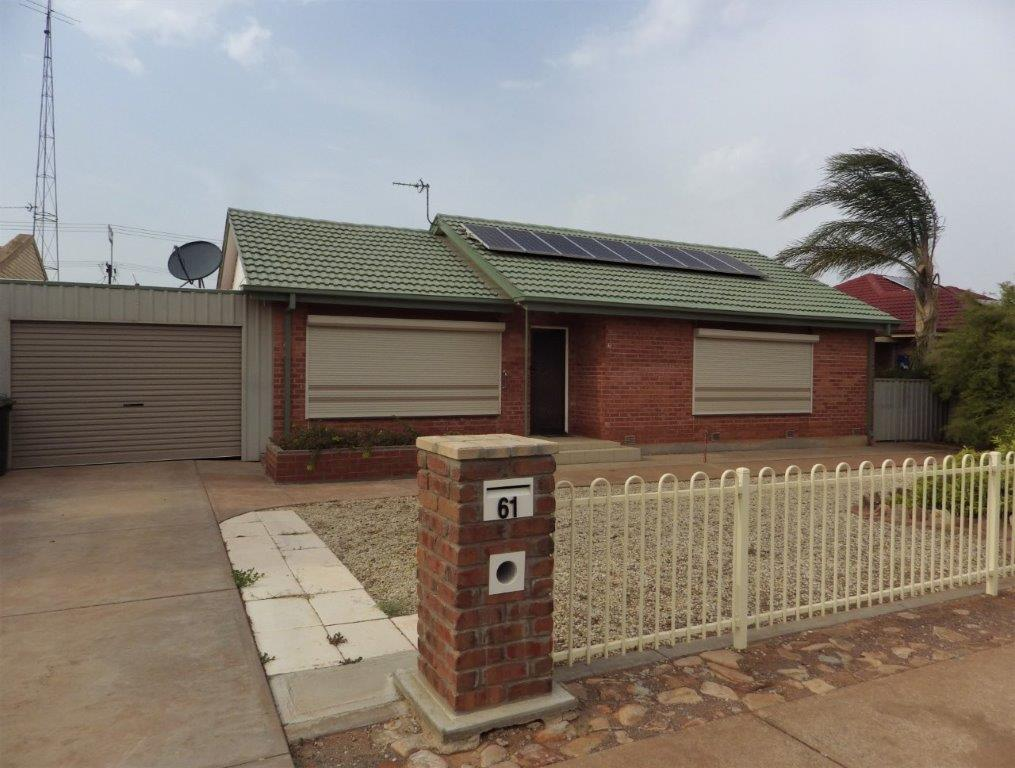 61 VISCOUNT SLIM AVENUE WHYALLA NORRIE
