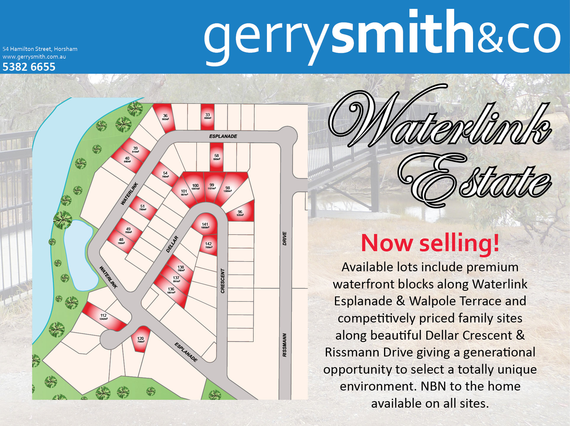 Lot 54 Waterlink Esplanade HORSHAM
