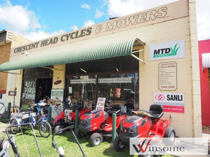 Crescent Head Cycles & Mowers