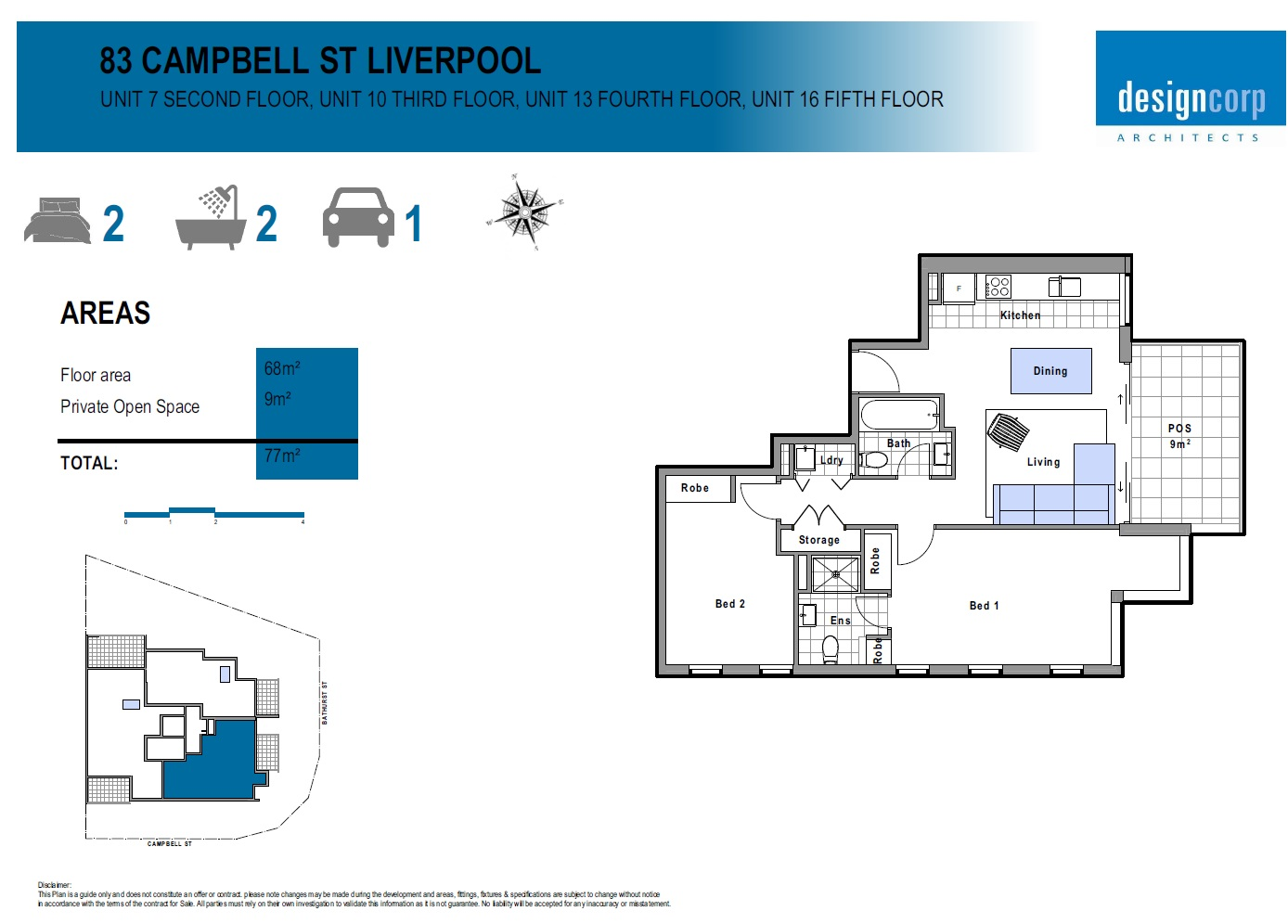 7/83 Campbell street LIVERPOOL