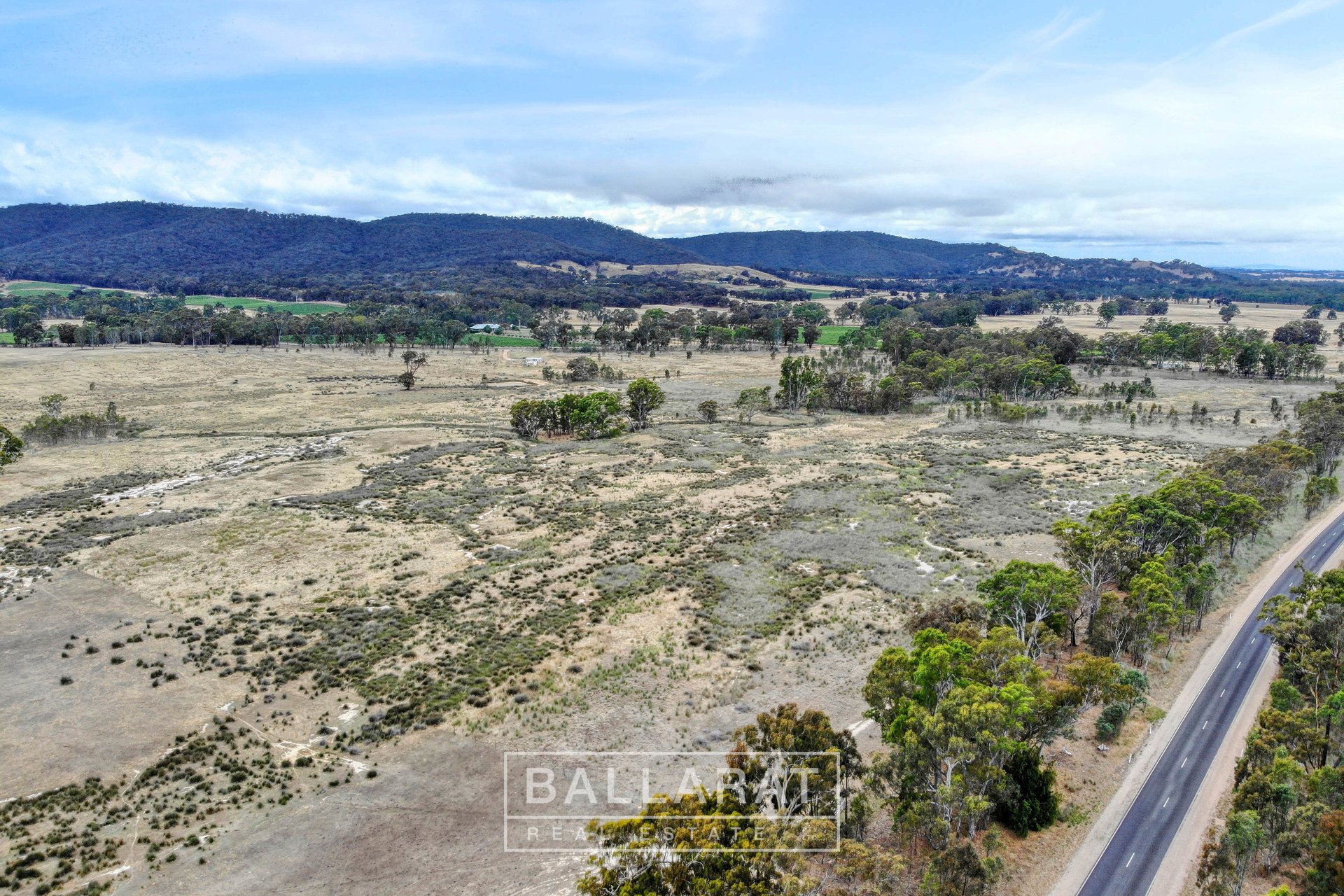 CA 121 Stawell - Avoca Road Moonambel
