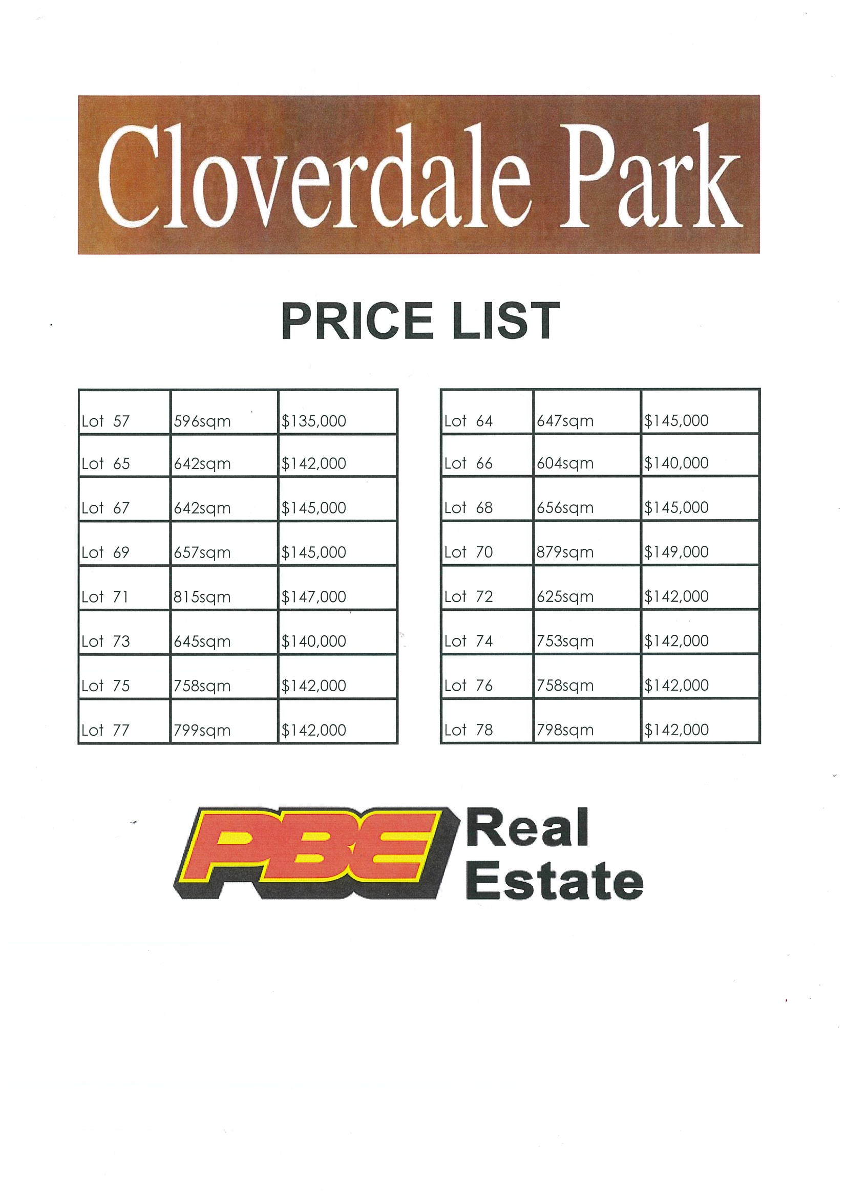Lot 72 Cloverdale Park DALYSTON