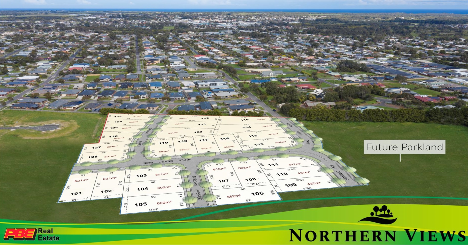 Lot 101 Apple Berry Rise NORTHERN VIEWS ESTATE WONTHAGGI