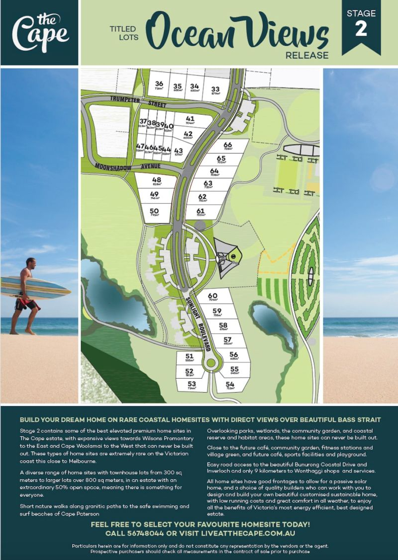 Lot 38 TRUMPETER STREET CAPE PATERSON
