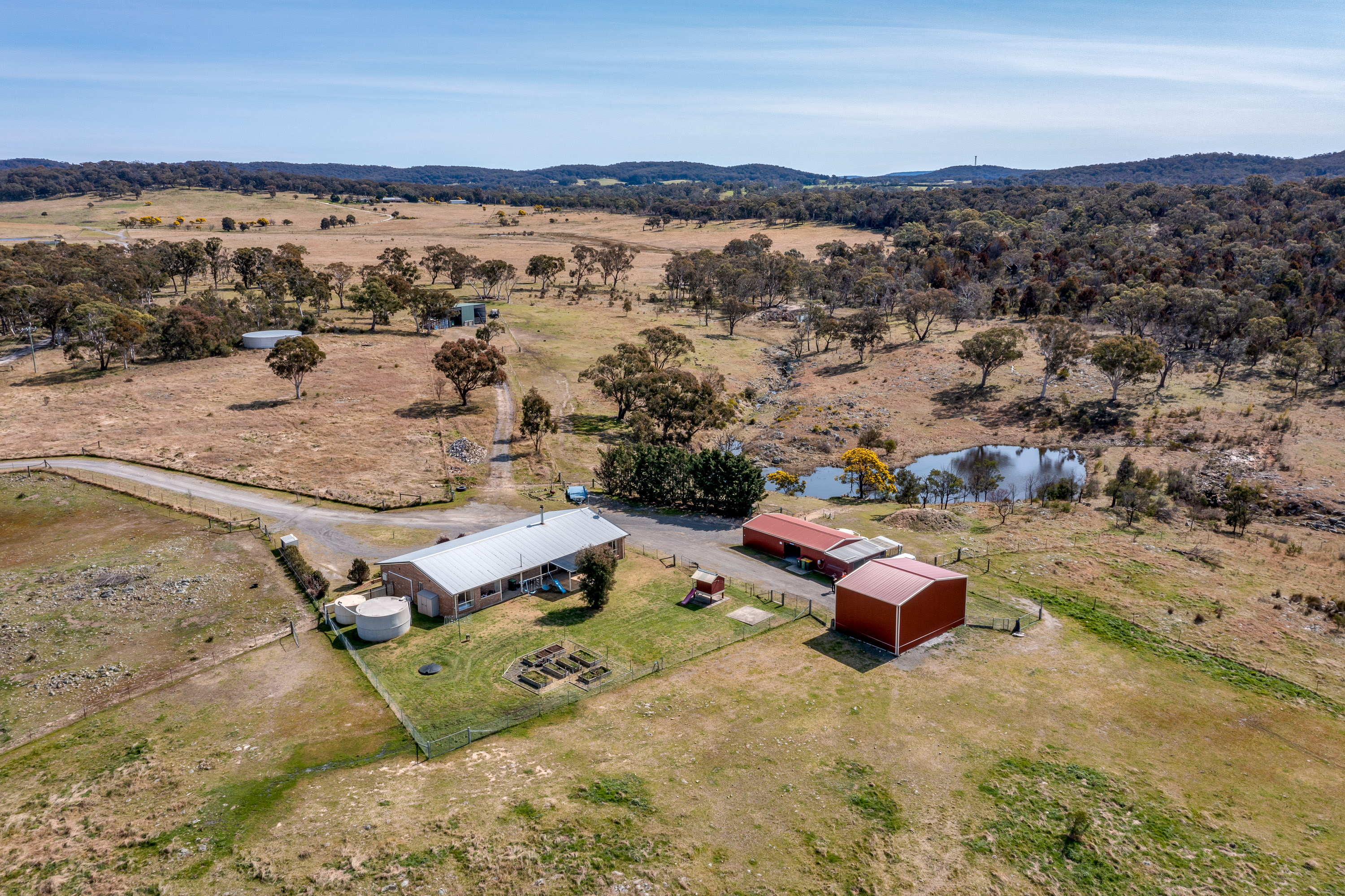 Aerial of House and Surrounds