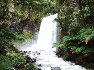 Hopetoun Falls near Beech Forest