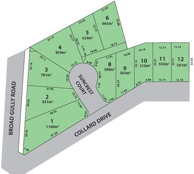 Lot 9 Glenview Estate - Collard Drive DIAMOND CREEK