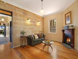 Internal sandstone and fire place