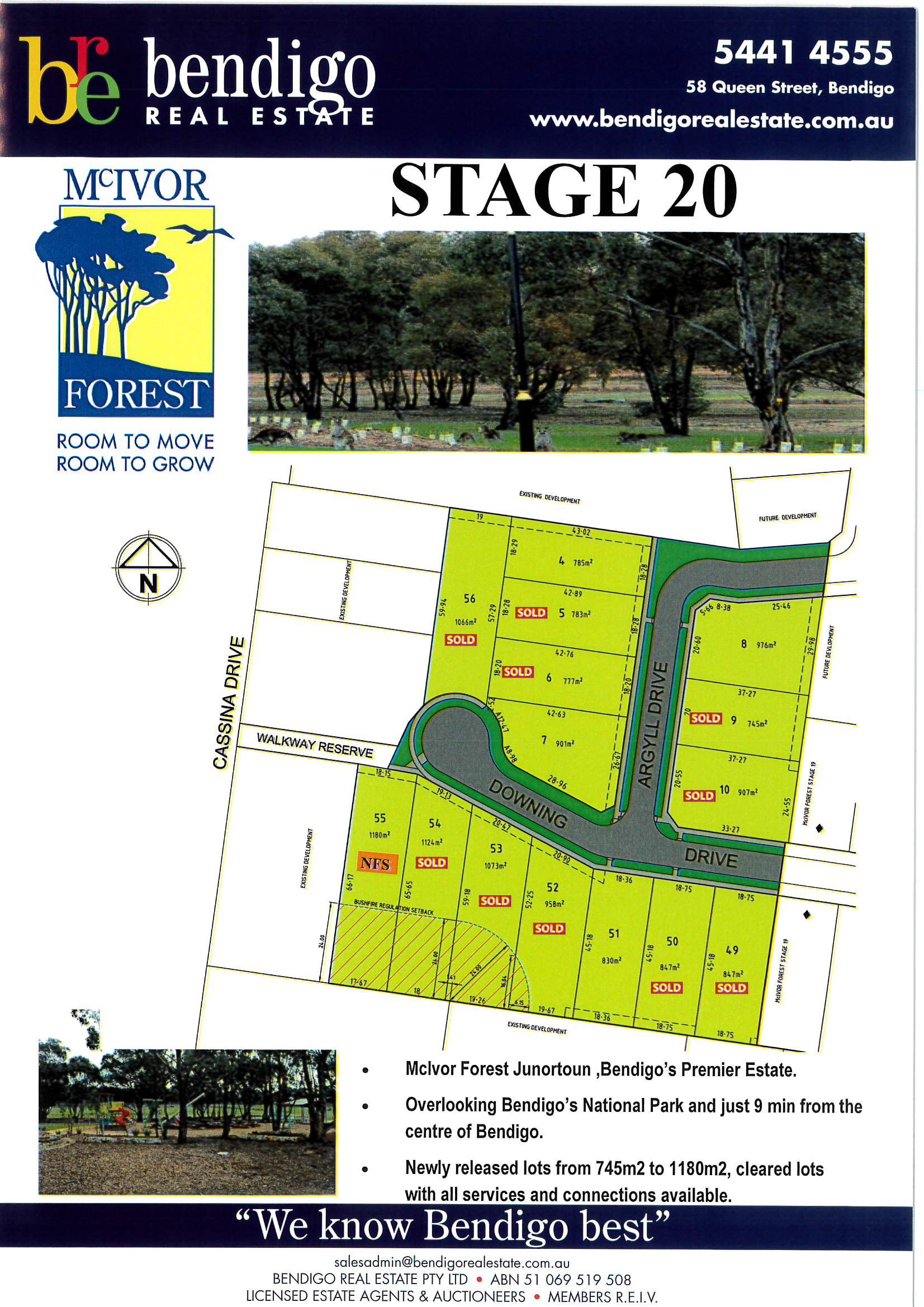 Stage 20 McIvor Forest Estate JUNORTOUN