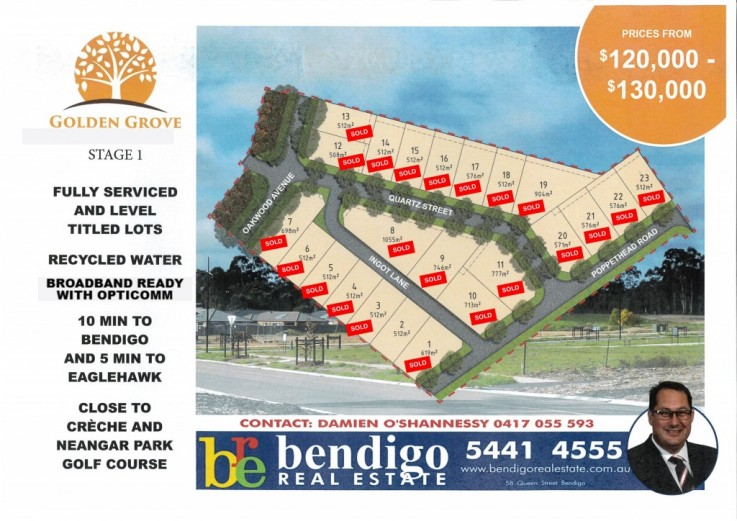 Lot 22 Golden Grove - Stage 1