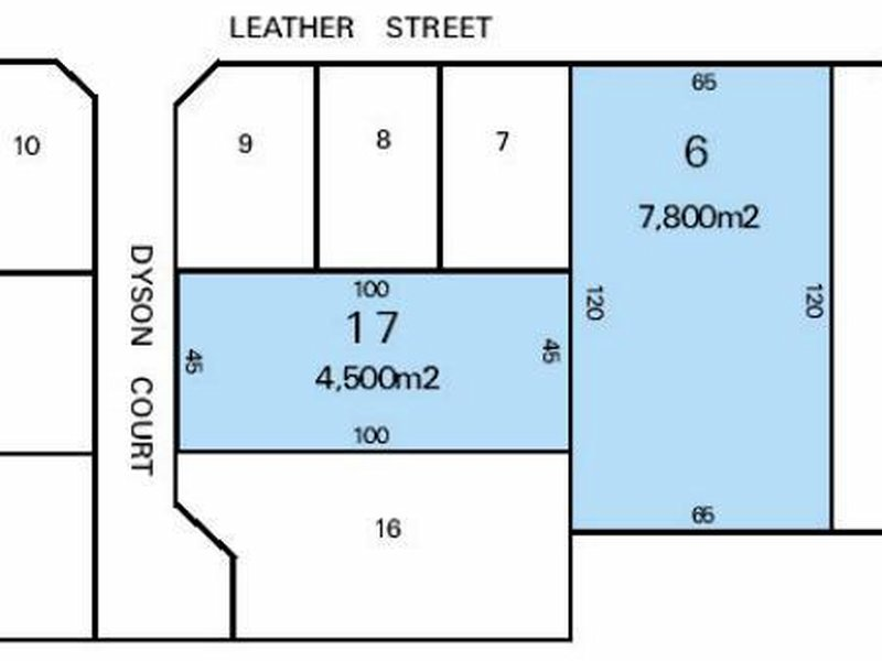 Lot 6 Leather St & Lot 17 Dyson Court BREAKWATER