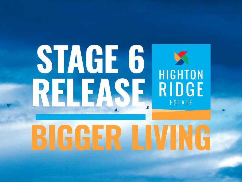 Stage 6A Highton Ridge Estate HIGHTON