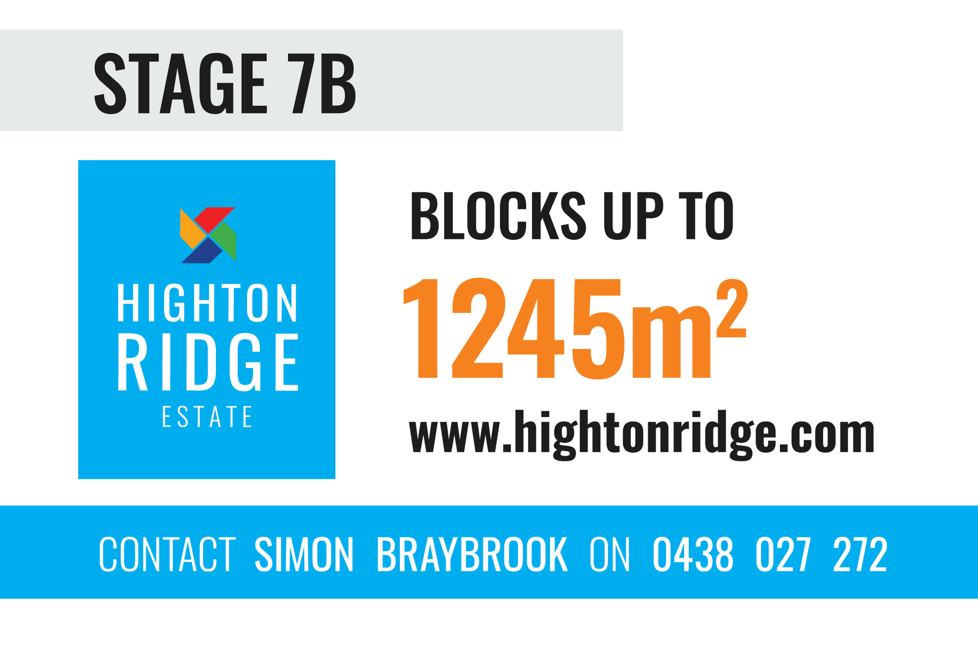 Stage 7B Highton Ridge Estate Highton