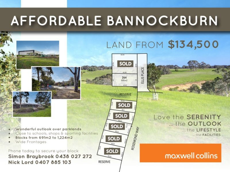 6 Lots Rosemond Way BANNOCKBURN