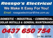 Rossgo's Electrical