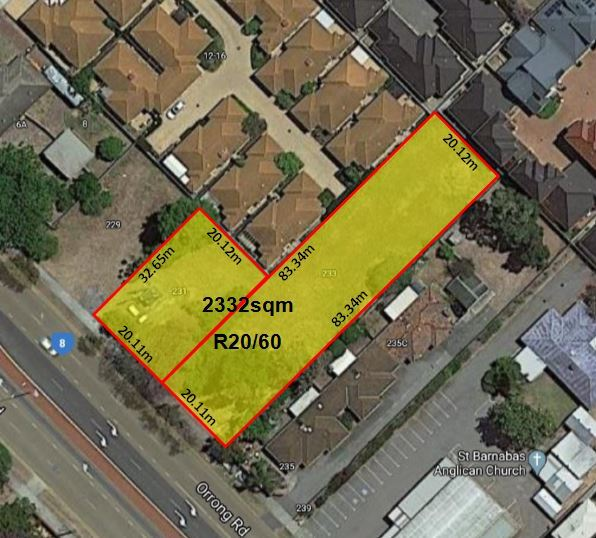 231 & 233 Orrong Road Rivervale