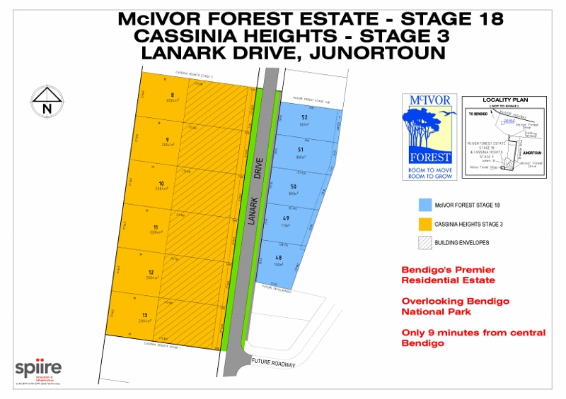 Lot 1-17 Stage 1 - 3 Cassinia/ Lanark Drive JUNORTOUN