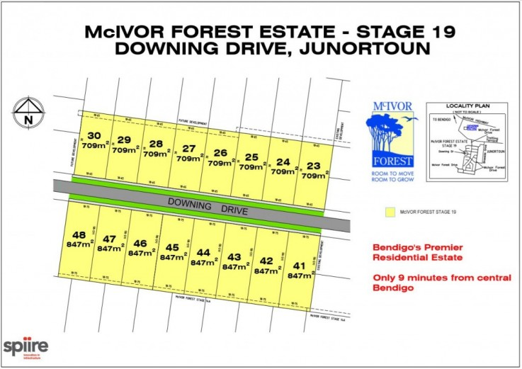 Stage 19 McIvor Forest Drive