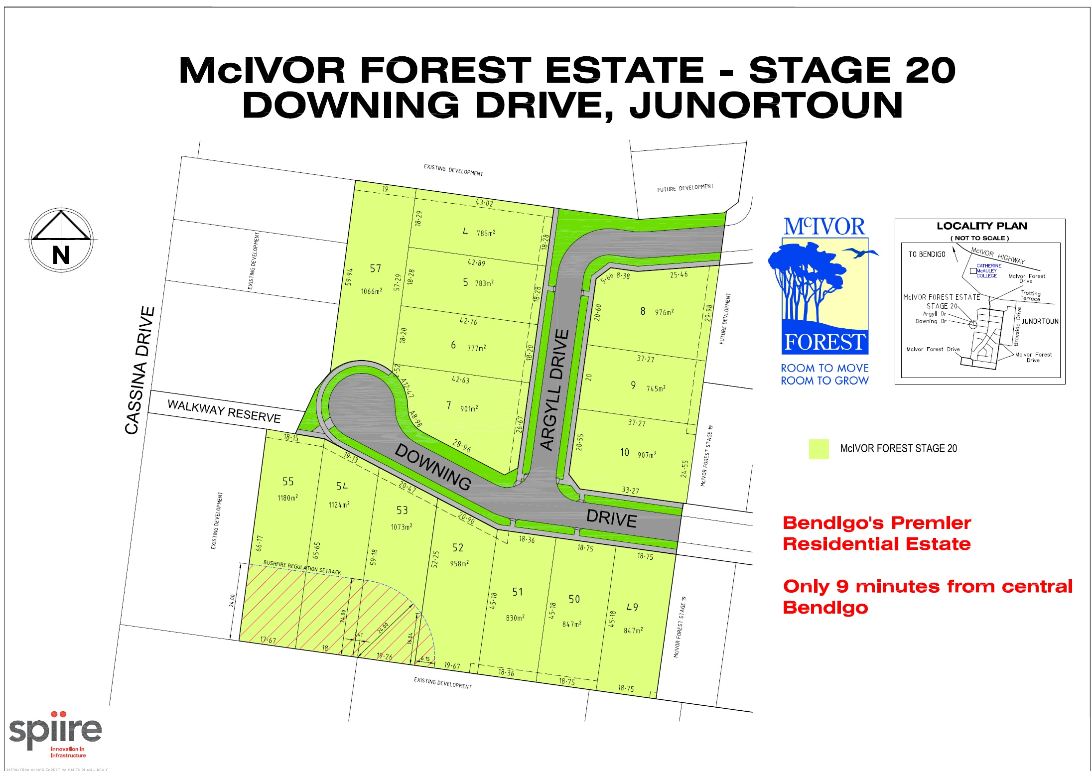 Lot 53-56/Stage 20 McIvor Forest Estate JUNORTOUN