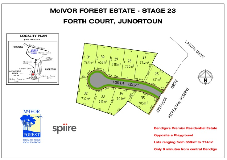 Lot 34 & 35/Stage 23 Forth Court JUNORTOUN